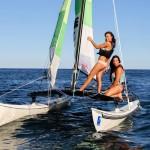 Laetitia Lefevre et Fiona Cauvin, Championne d'Europe vont défendre leur titre. photo ©Mairie de Cannes